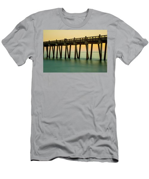Pensacola Beach Fishing Pier Men's T-Shirt (Athletic Fit)