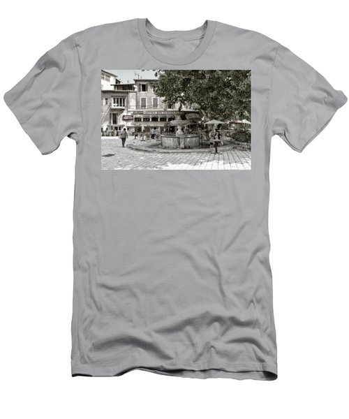 People On The Square Men's T-Shirt (Athletic Fit)