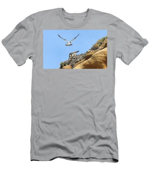 Peregrine Falcons - 2 Men's T-Shirt (Athletic Fit)