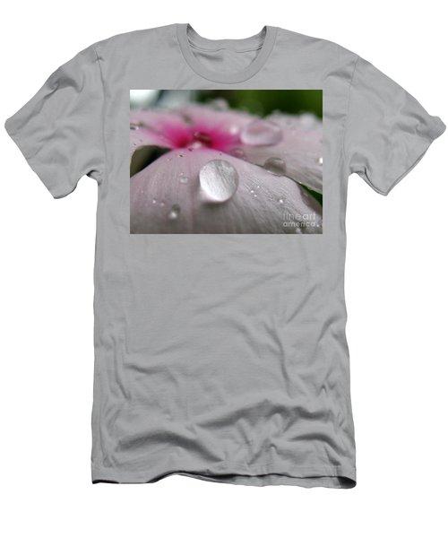 Petal Surfing II Men's T-Shirt (Slim Fit) by Patti Whitten