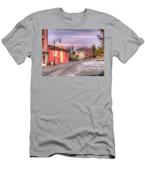 Petaluma Morning Men's T-Shirt (Athletic Fit)