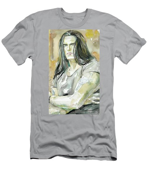 Peter Steele Portrait.2 Men's T-Shirt (Athletic Fit)