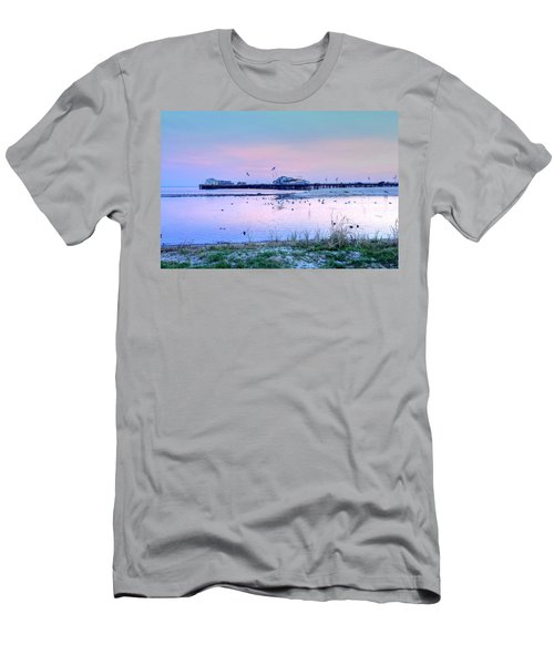 Pier Pond And Sea Men's T-Shirt (Athletic Fit)