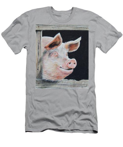 Piggy.  Sold  Men's T-Shirt (Athletic Fit)
