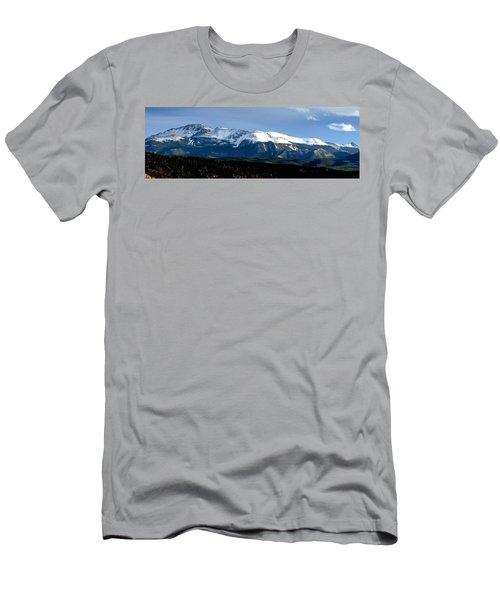 Pikes Peak Panorama Men's T-Shirt (Athletic Fit)
