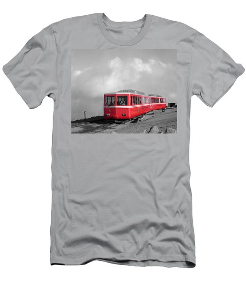 Pikes Peak Train Men's T-Shirt (Athletic Fit)
