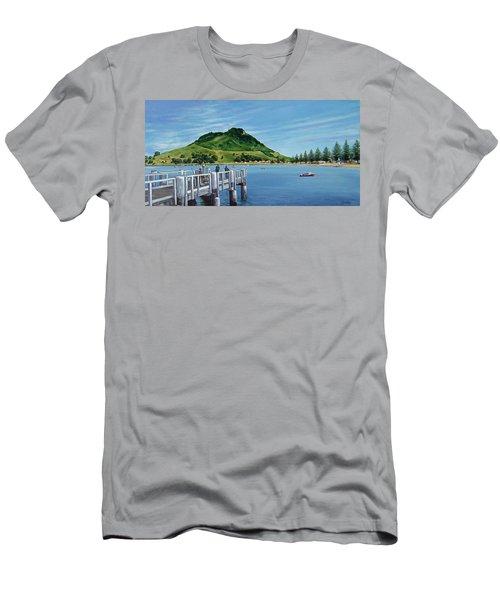 Pilot Bay 280307 Men's T-Shirt (Slim Fit) by Sylvia Kula