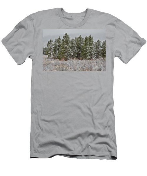 Pine Flurries Men's T-Shirt (Athletic Fit)