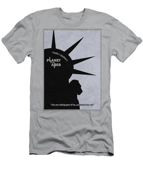 Planet Of The Apes Men's T-Shirt (Athletic Fit)