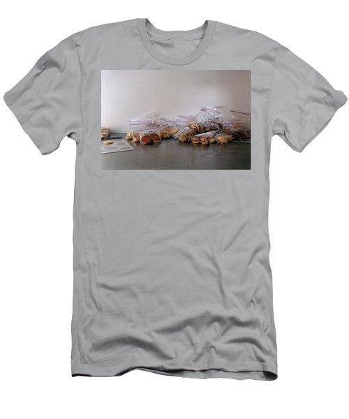 Plastic Bags Of Cookies Men's T-Shirt (Athletic Fit)