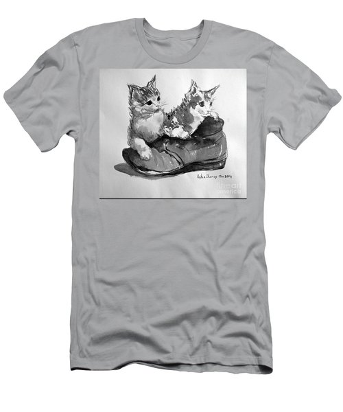 Playful Kittens Men's T-Shirt (Athletic Fit)