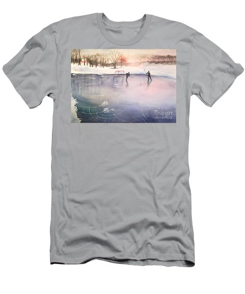 Playing On Ice Men's T-Shirt (Athletic Fit)