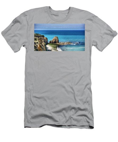 Pointe Du Hoc Men's T-Shirt (Athletic Fit)