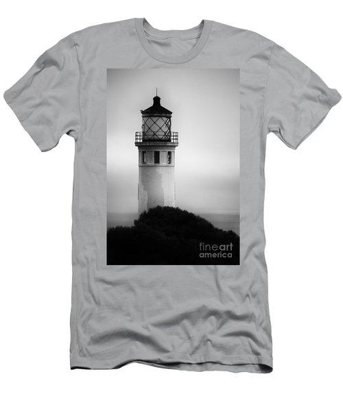 Pointe Vincente Lighthouse Men's T-Shirt (Athletic Fit)
