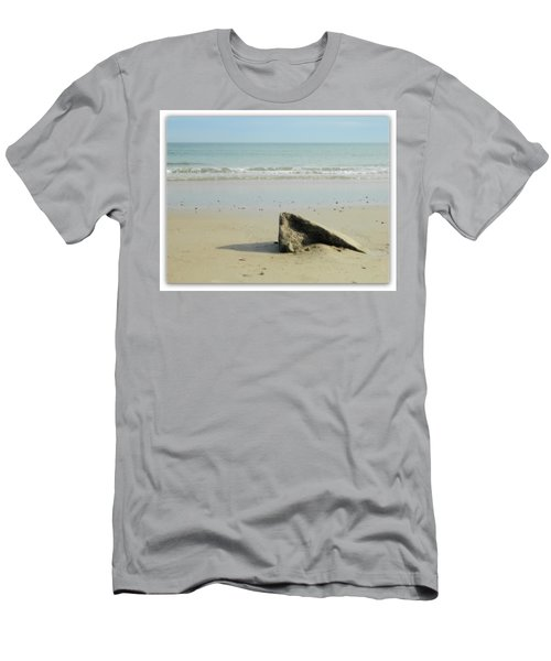 Pointed Rock At Squibby Men's T-Shirt (Slim Fit) by Kathy Barney