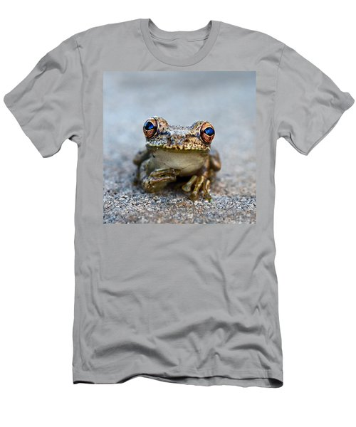 Pondering Frog Men's T-Shirt (Athletic Fit)