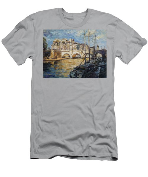 Pont Neuf Paris Men's T-Shirt (Athletic Fit)