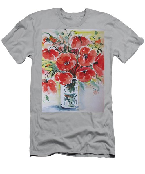 Poppies Iv Men's T-Shirt (Athletic Fit)