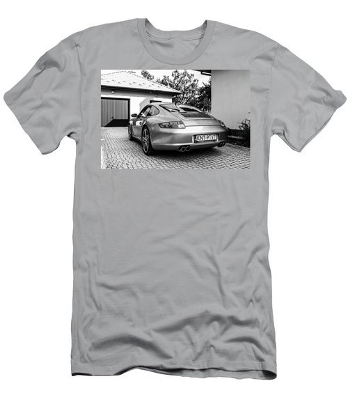 Porsche 911 Carrera 4s Men's T-Shirt (Athletic Fit)
