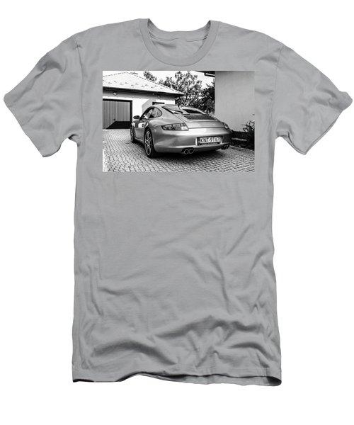 Porsche 911 Carrera 4s Men's T-Shirt (Slim Fit) by Tgchan