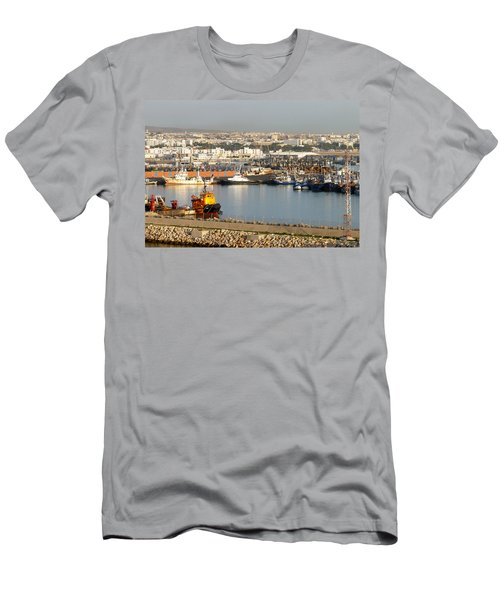 Port Of Agadir Morocco 1 Men's T-Shirt (Athletic Fit)