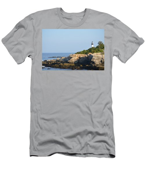 Portland Head Light In Summer Men's T-Shirt (Athletic Fit)