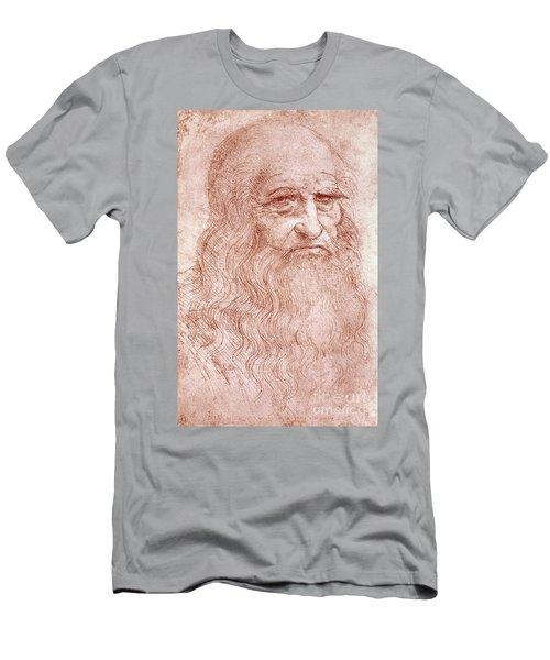 Portrait Of A Bearded Man Men's T-Shirt (Athletic Fit)