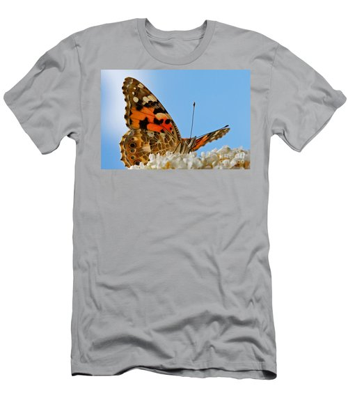 Portrait Of A Butterfly Men's T-Shirt (Athletic Fit)