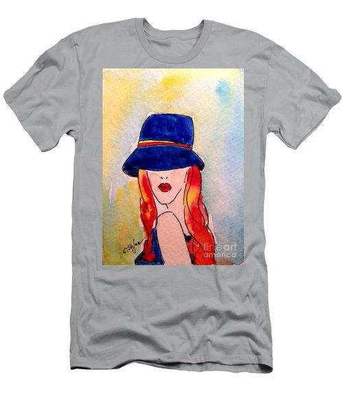 Portrait Of A Woman Men's T-Shirt (Athletic Fit)