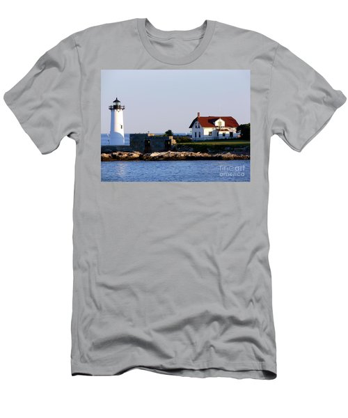 Portsmouth Harbor Light Men's T-Shirt (Athletic Fit)