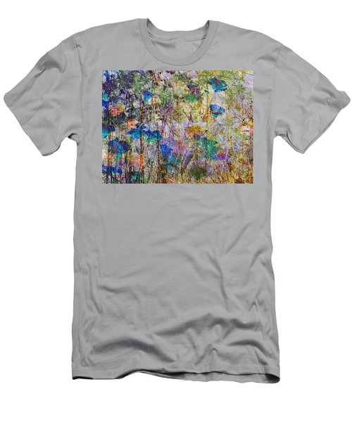Posies In The Grass Men's T-Shirt (Athletic Fit)