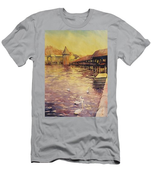Posing For Tourists Men's T-Shirt (Athletic Fit)