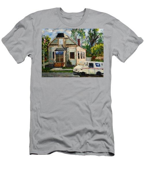 Post Office At Lafeyette Nj Men's T-Shirt (Athletic Fit)