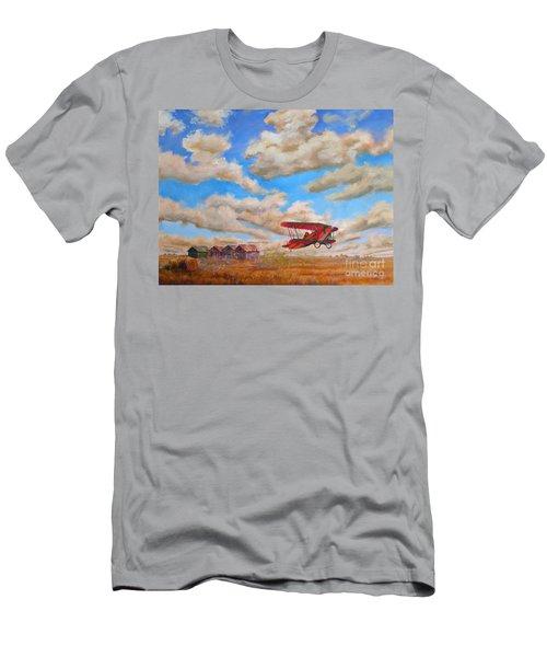 Prairie Runway Men's T-Shirt (Athletic Fit)