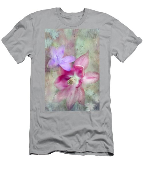 Pretty Flowers Men's T-Shirt (Athletic Fit)