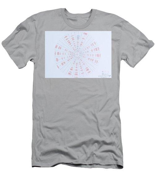 Prime Number Pattern P Mod 40 Men's T-Shirt (Athletic Fit)