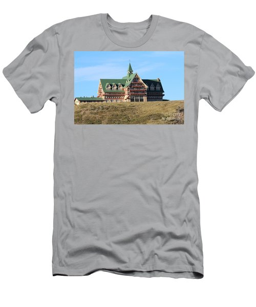 Men's T-Shirt (Athletic Fit) featuring the photograph Prince William Hotel by Ann E Robson
