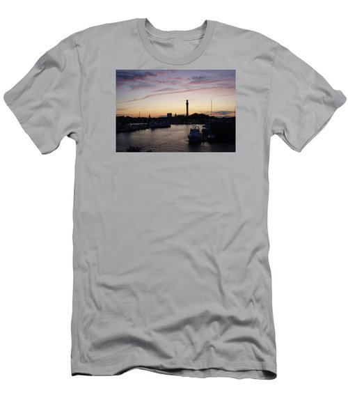 Provincetown Sunset Men's T-Shirt (Slim Fit) by Robert Nickologianis