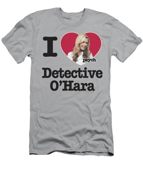 Psych - I Heart O'hara Men's T-Shirt (Athletic Fit)