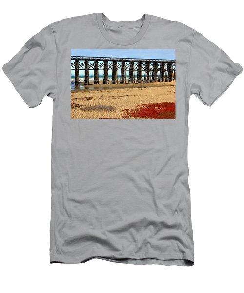 Pudding Creek Bridge Men's T-Shirt (Athletic Fit)