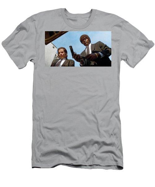 Pulp Fiction Artwork 1 Men's T-Shirt (Athletic Fit)