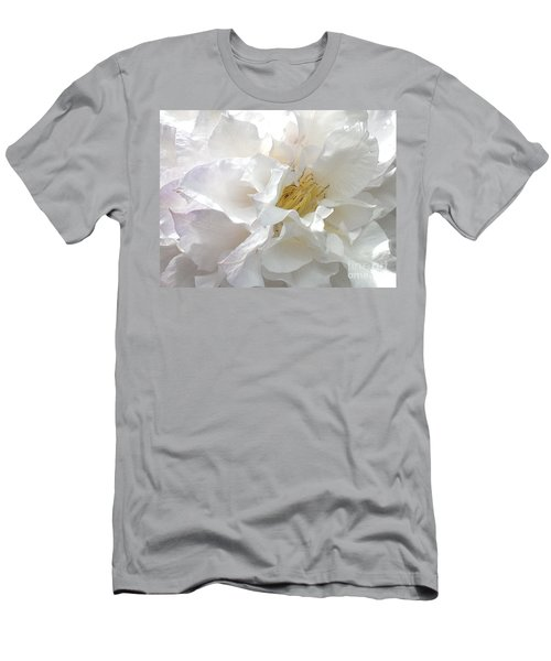 Pure White Men's T-Shirt (Athletic Fit)