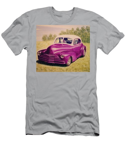 Purple Chevrolet Men's T-Shirt (Athletic Fit)