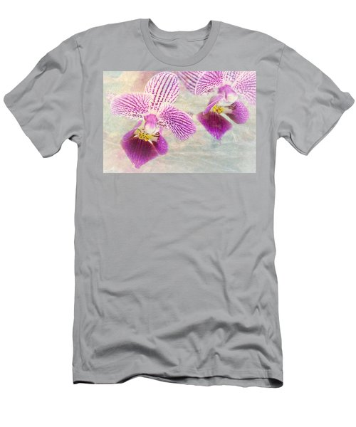 Purple Orchid 2 Men's T-Shirt (Athletic Fit)