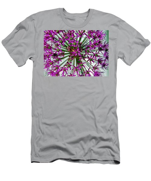 Men's T-Shirt (Slim Fit) featuring the photograph Purple Starlight by Aimee L Maher Photography and Art Visit ALMGallerydotcom