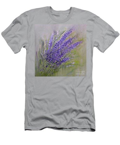 Purple Summer Men's T-Shirt (Athletic Fit)