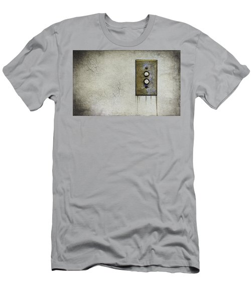 Push Button Men's T-Shirt (Athletic Fit)