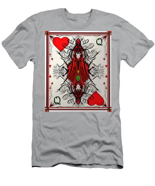 Queen Of Arts Men's T-Shirt (Athletic Fit)