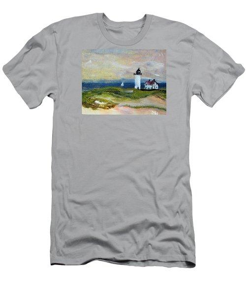 Race Point Light Men's T-Shirt (Athletic Fit)