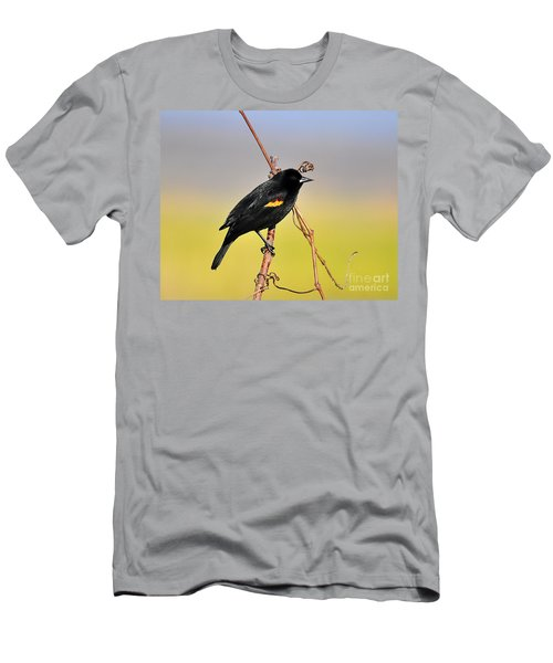 Radiant Red-winged Men's T-Shirt (Athletic Fit)